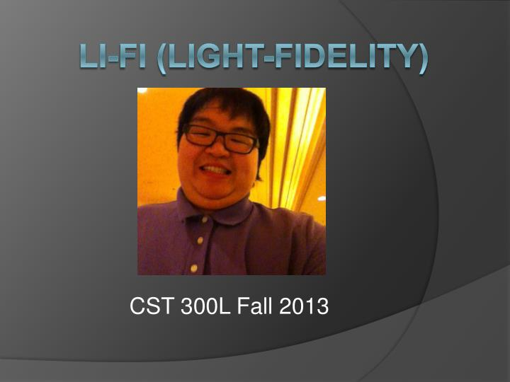 li fi light fidelity