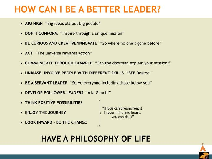 How Can I be a Better Leader?