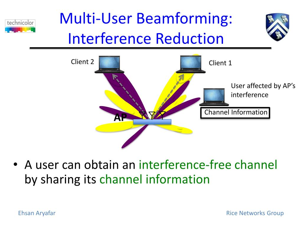 PPT - Design and Experimental Evaluation of Multi-User