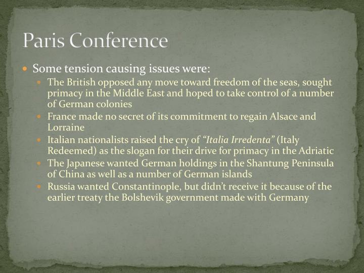 Paris Conference