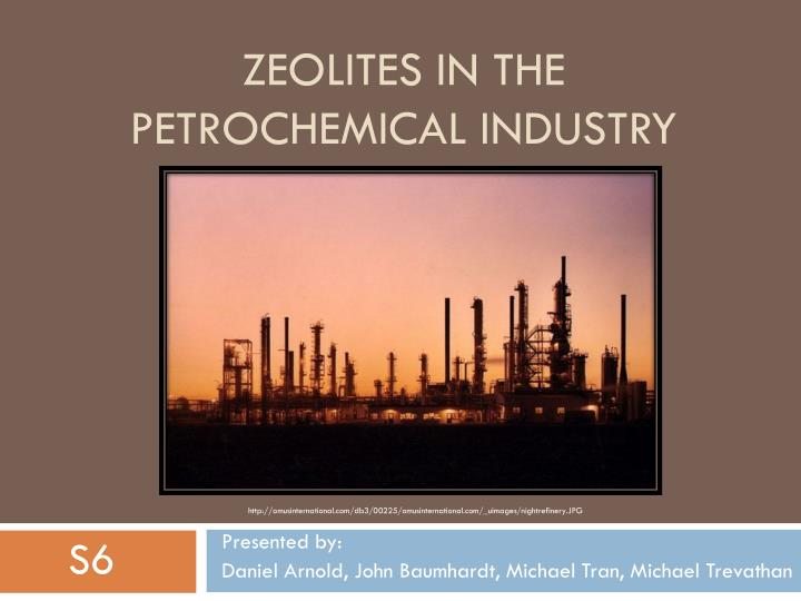 PPT - Zeolites in the petrochemical industry PowerPoint Presentation