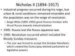 nicholas ii 1894 1917
