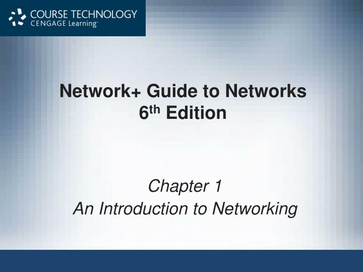 Network Guide to Networks