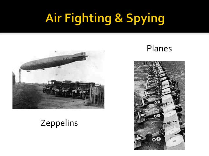 Air Fighting & Spying