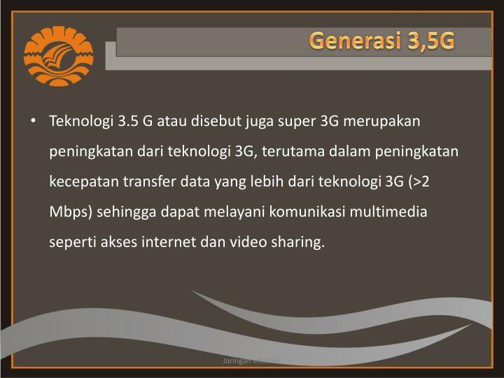 Generasi 3,5G
