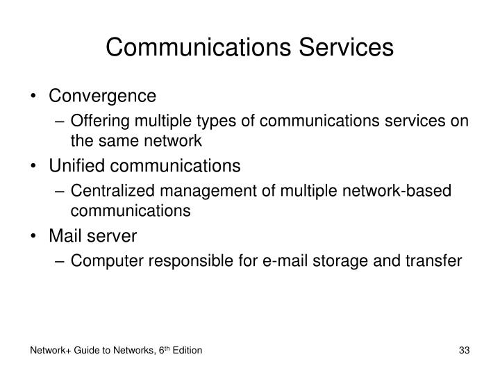 Communications Services