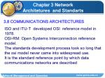 3 8 communications architectures