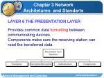 layer 6 the presentation layer