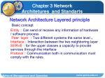 network architecture layered principle