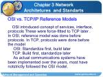 osi vs tcp ip reference models