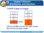tcp ip 4 layer or 5 layer