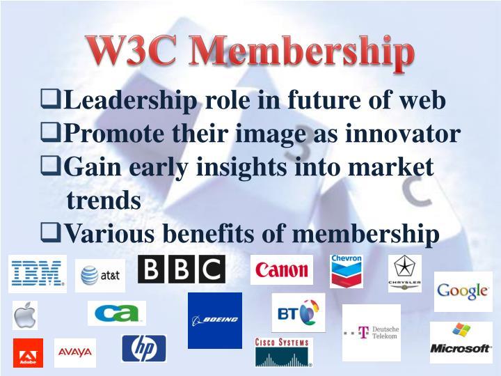 W3C Membership