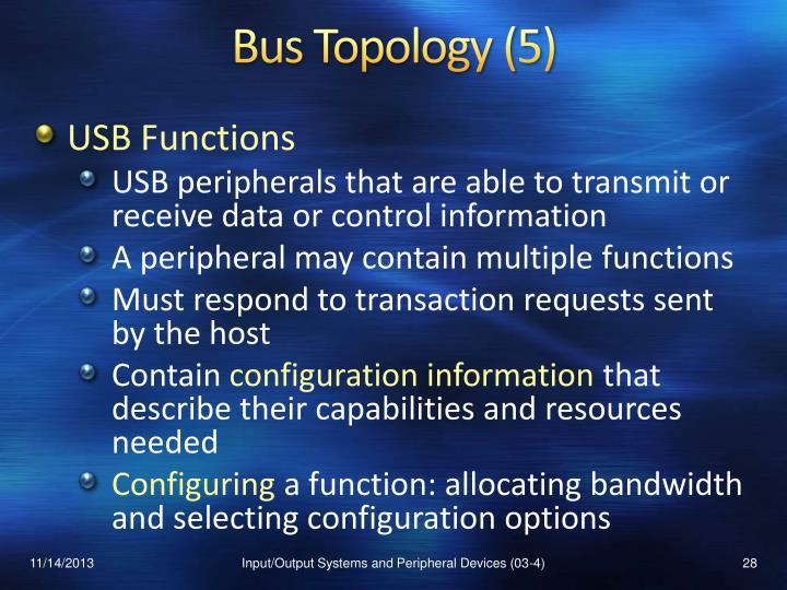 Bus Topology (5)
