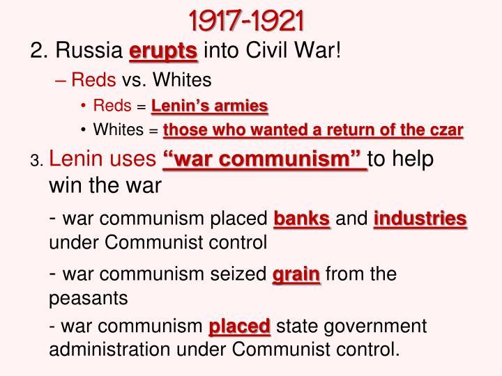 1917-1921