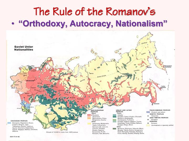 The Rule of the Romanov's