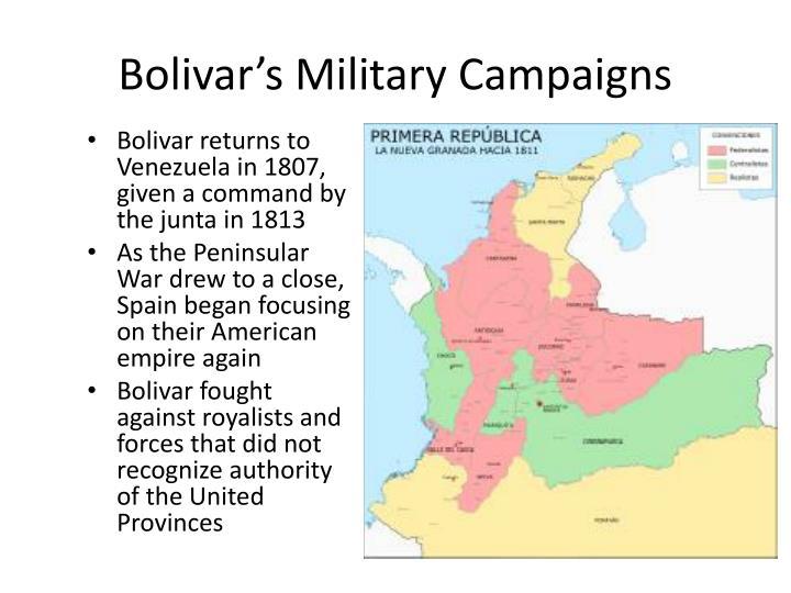 Bolivar's Military Campaigns