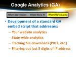 google analytics ga9