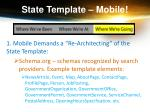 state template mobile