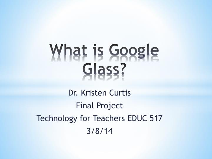 what is google glass n.