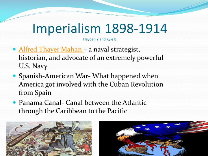Imperialism 1898-1914