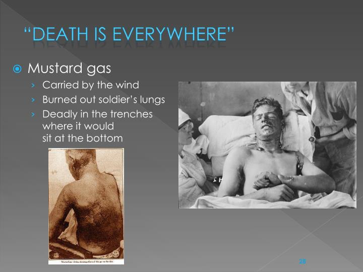 """""""Death is everywhere"""""""