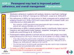 ksp 2 perampanel may lead to improved patient adherence and overall management aspirational
