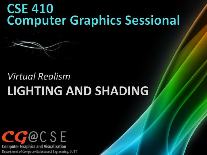 cse 410 computer graphics sessional n.
