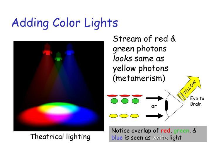 Adding Color Lights