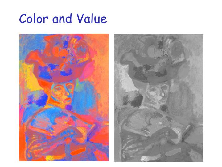 Color and Value