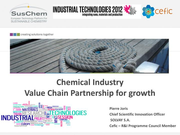 chemical industry value chain partnership for growth n.