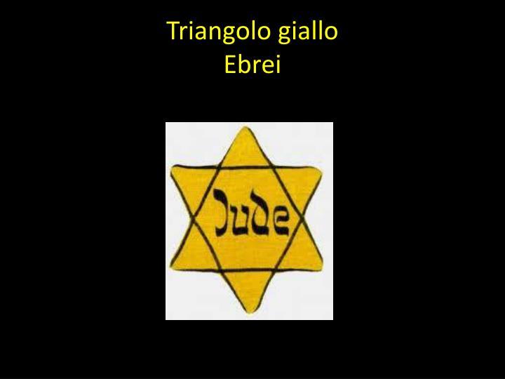 Triangolo giallo