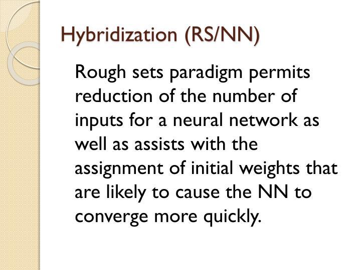 Hybridization (RS/NN)