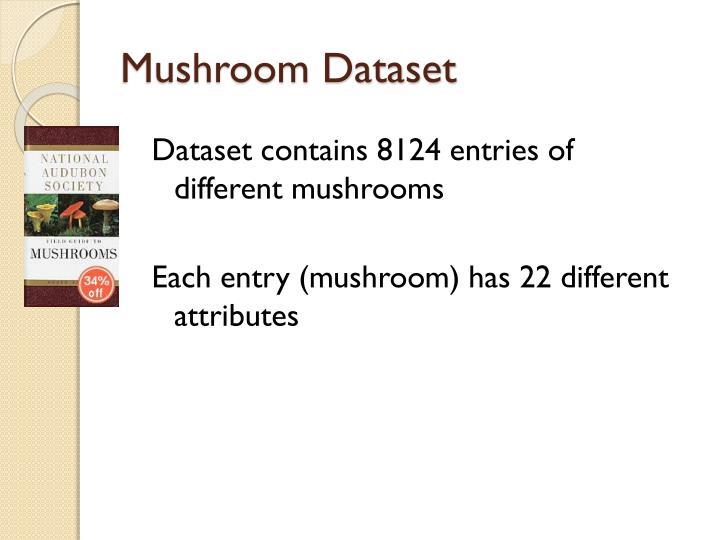 Mushroom Dataset