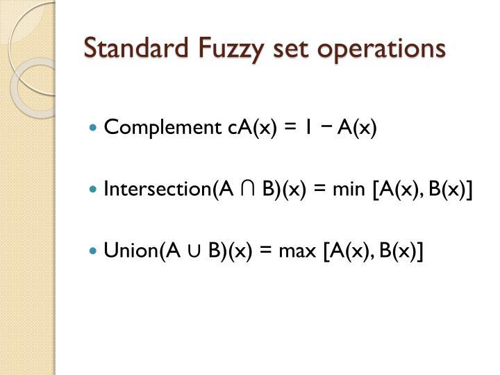 Standard F