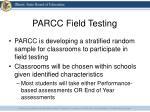 parcc field testing