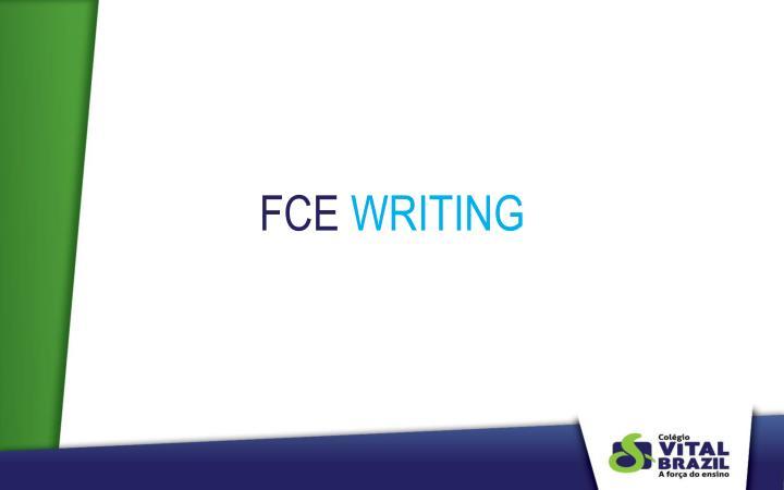 Fce writing