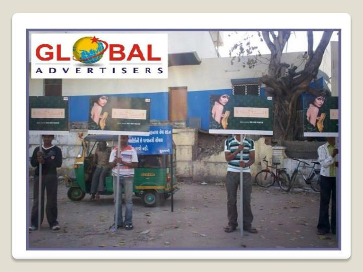 Outdoor promotion through bus shelter for electronics at tha