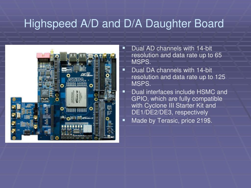 PPT - High Speed Signal Processing Board Design PowerPoint