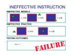 ineffective instruction1