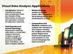 visual data analysis applications