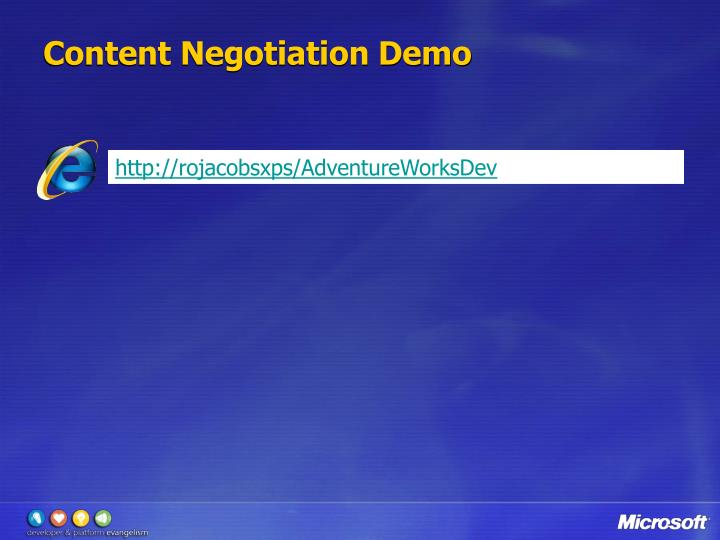 Content Negotiation Demo