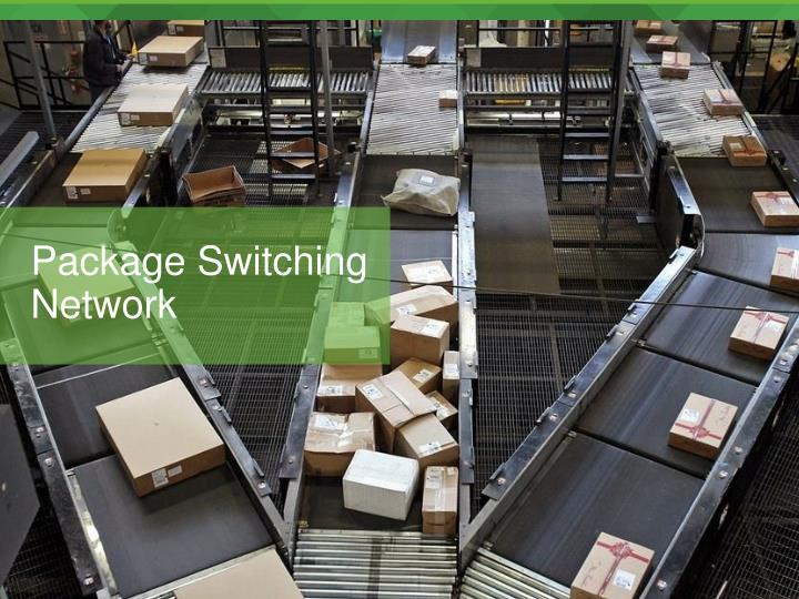 Package Switching Network