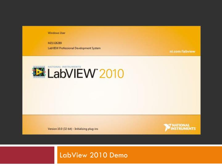 labview 2010 demo n.