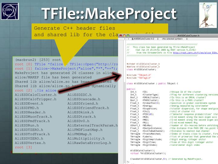 TFile::MakeProject
