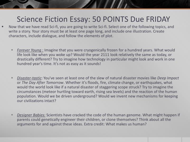 Science Fiction Essay: