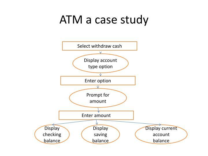 ATM a case study