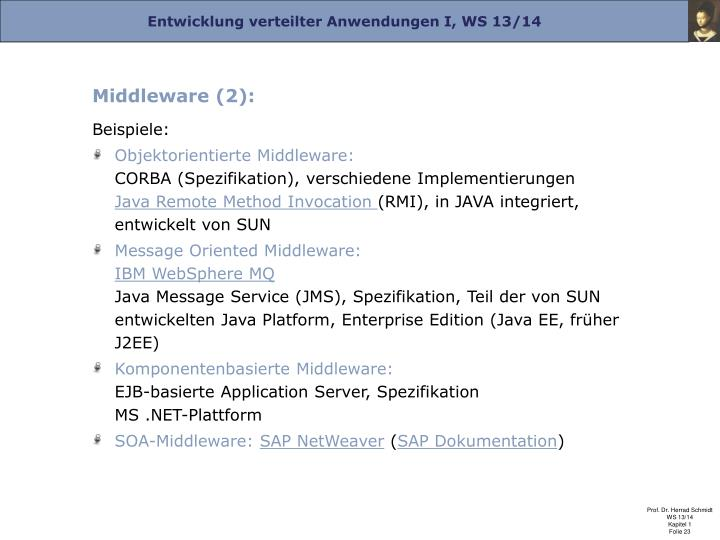 Middleware (2):