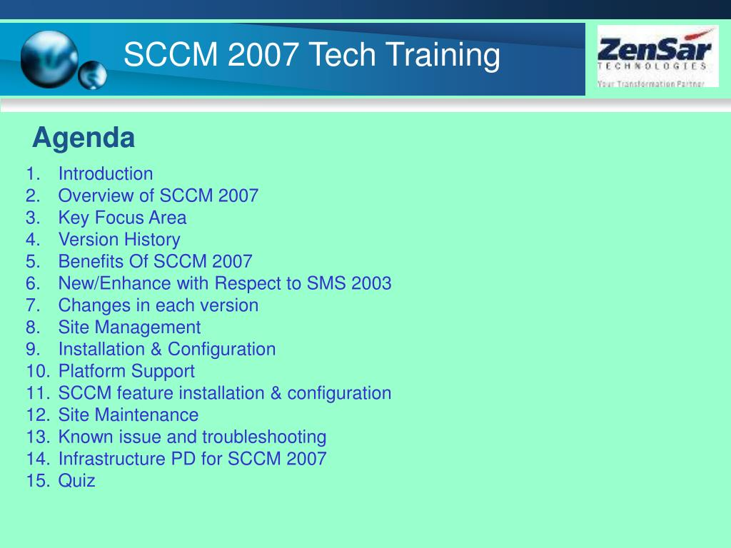 PPT - System Center Configuration Manager 2007 PowerPoint