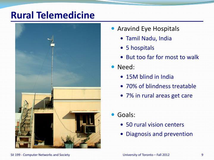 Rural Telemedicine
