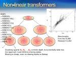 non linear transformers